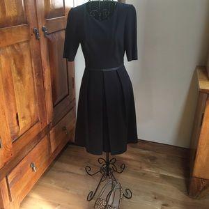 Ellie Tahari Stretch Jersey little black dress